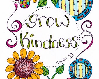 Note cards Kindness Matters set (4)