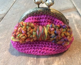 Pink money bracket with multicolored bow