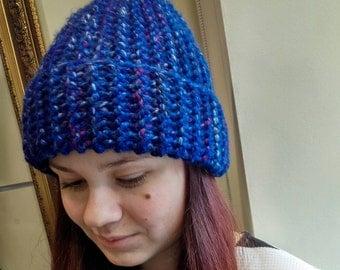 Warm & Soft ultramarine hat