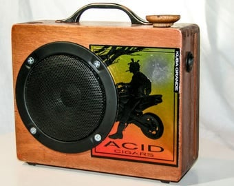 Acid Cigar Box Amp - Lunchbox style