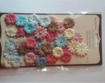 Beautiful Paper Flowers for Cards/Scrapbooking