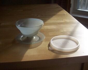 Vintage Tupperware Short Parfait Dessert Cups - Set of 6 - Retro Tupperware - Jello Pudding Cups - Party Cups - 70s 80s Kitchenware