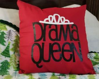 Drama Queen Pillow
