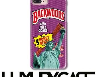 iPhone 7 Plus case, Backwoods Cigar, iPhone 6S Case, Statue of Liberty, iPhone 7 case, Backwoods, iPhone 8 Plus Case, iPhone 8 Case, 365