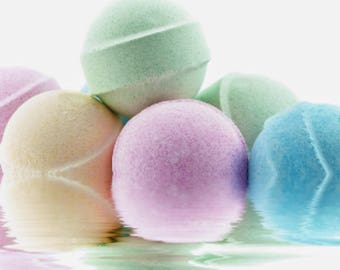 Colorful Bathbombs  Kids Bathbombs Buy 4 and get 1 free