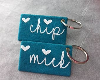 Key Chains with Name