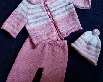 Baby Knitting Suit 3 pieces