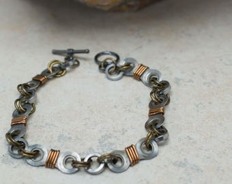 Bicycle Chain Double Link Bracelet
