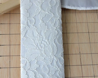 The Bellarmine White Clergy Stole for Easter / Wedding