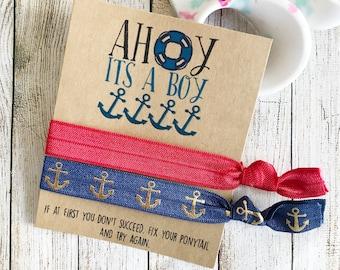 Ahoy Its A Boy, Ahoy Baby Shower, Ahoy Party Favors, Ahoy Shower Favors, Ocean Baby Shower, Ocean Shower Favors, Ahoy Birthday Party Favors