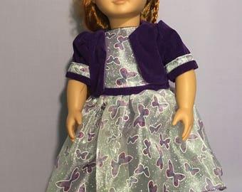 Pretty Purple Party Dress