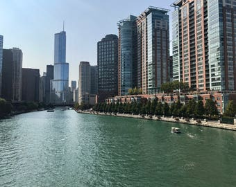 Summer in Downtown Chicago