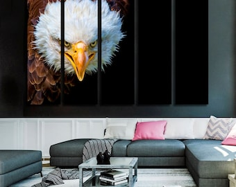 Eagle Canvas Wall Art Eagle Wall Decoration Eagle Canvas Wall Art Art Eagle Large Canvas Wall Art Wall Decor