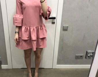 Dress Sabrina in pink
