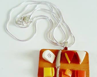 Cheese Selection Necklace