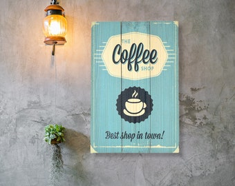 """Hand Painted """"But First, Coffee"""" sign // Dining Room Decor // Kitchen Decor // Hand Painted Signt Kiss. He is Your Little Boy' Wife GIFT"""