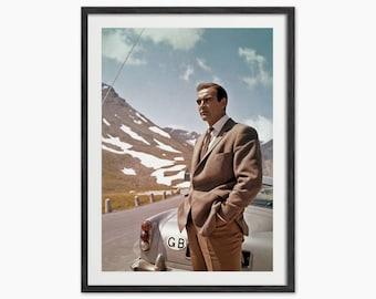 Sean Connery as James Bond Art Print (Colour)