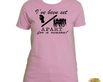 Women's I've Been Set Apart T-shirt
