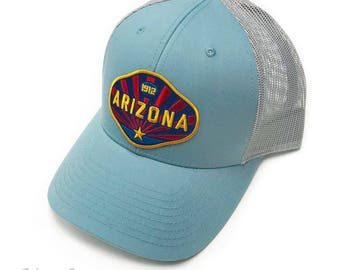 Arizona 1912 : Low Profile Trucker Hat
