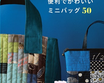 50 Small Bags -  Japanese Craft Book