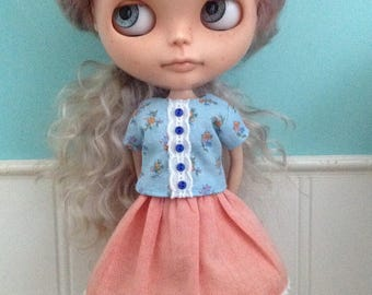 Outfit for Blythe - Skirt and Top