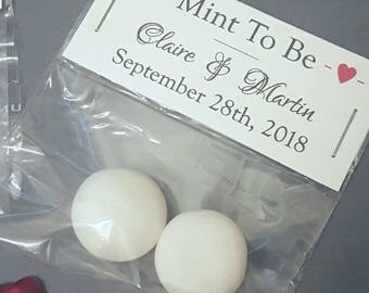 Wedding Favours, Mint To Be Favours, Wedding Guest Gifts, Sweet Favours, Please Take One, Edible Favours, Wedding Favours UK