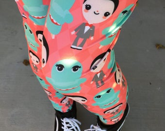Pee Wee Herman and Chairry Leggings - Size S-3X