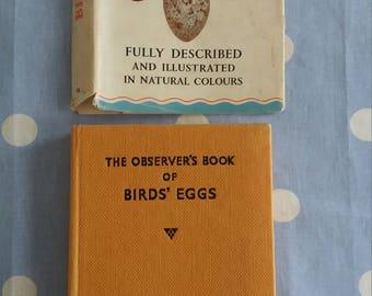 Vintage 1954 Observer's Book of Birds' Eggs No 18 WARNE