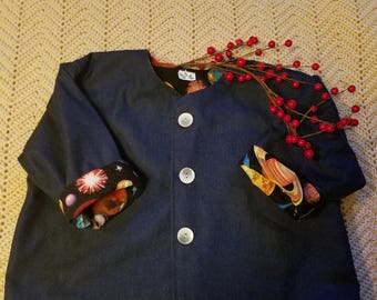 Denim Outer Space Jacket