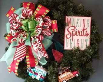 Making Spirits Bright Wreath