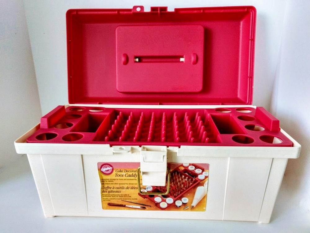 Cake Decorating Equipment Storage Box : Wilton Tool Caddy Cake Decorating Box, Storage ...