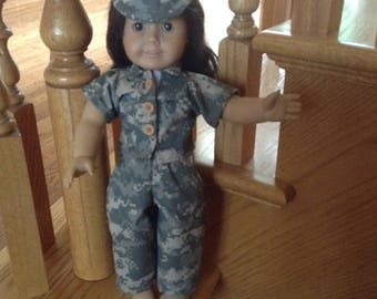 "Military Uniform for 18"" Doll (such as American Girl)"
