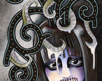 Gothic Children - Lily - Original Art