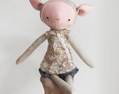 "the foundlings | handmade cloth lamb doll | ""posie"""