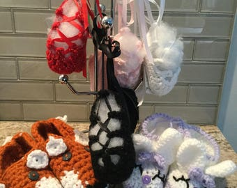 Baby Ghillies - Ballet Slippers - Fox Slippers - Bunny Slippers - All Ready to Ship FREE in the US