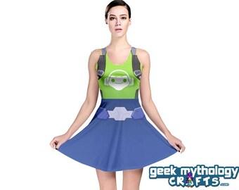 Lucio Inspired Sleeveless Cosplay Dress PREORDER