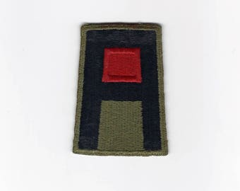 Vintage Militaria, First Army Artillery Patch, World War 2 Letter, 1944 G I Bill of Rights Pamphlet, War Memorabilia, Soldier War Souvenir
