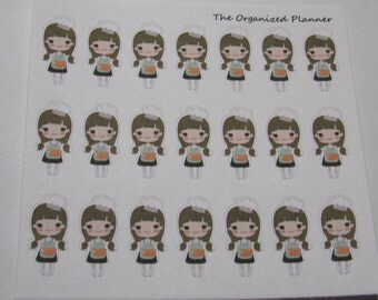 21 Baking Stickers / Cooking Stickers / Great for your Erin Condren Life Planner