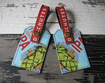Deschutes Fresh Squeezed Luggage Tag Set