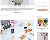 WordPress Blog Theme - Beauty WordPress Design -  WordPress Theme - WordPress Blog Theme - Blog Design and Installation - Olivia