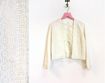 White Vintage Evening Jackets