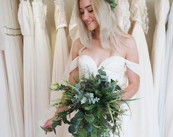 Boho bouquet, Eucalyptus bouquet, Rustic bouquet, Fern bouquet, Alternative bouquet, Bridal greenery, Woodland greenery, Wild bouquet