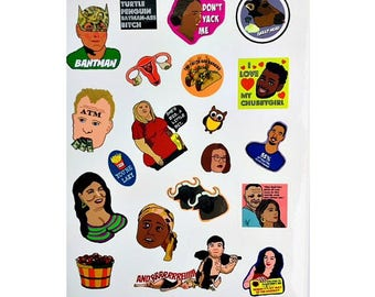 "90 DAY FIANCE ""Before the 90 Days"" Sticker Sheet Reality TV Tlc Network"