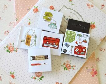 Mix Tape cute cartoon shapes deco stickers