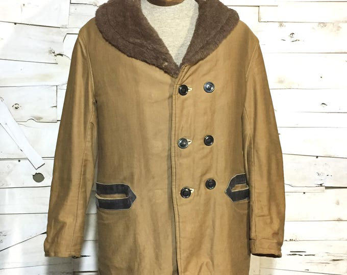 1930's US Navy Transport Coat Modified