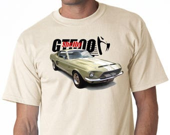 T-Shirt Mustang Shelby GT500
