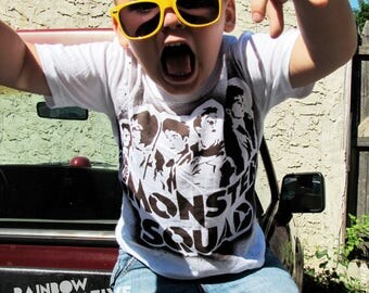 Monster Squad kids tee 80s tshirt 1980s movie youth toddler