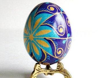 Egg ornament Ukrainian Easter egg Pysanka traditional gifts for Easter Christmas birthdays spiritual home decor gift ideas