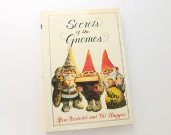 Secrets of the Gnomes Hardcover Book by Rien Poortvliet and Wil Huygen English Translation 1982 Edition