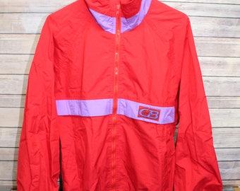 Men's Vintage CB Sports Wind Breaker, Jacket, Coat